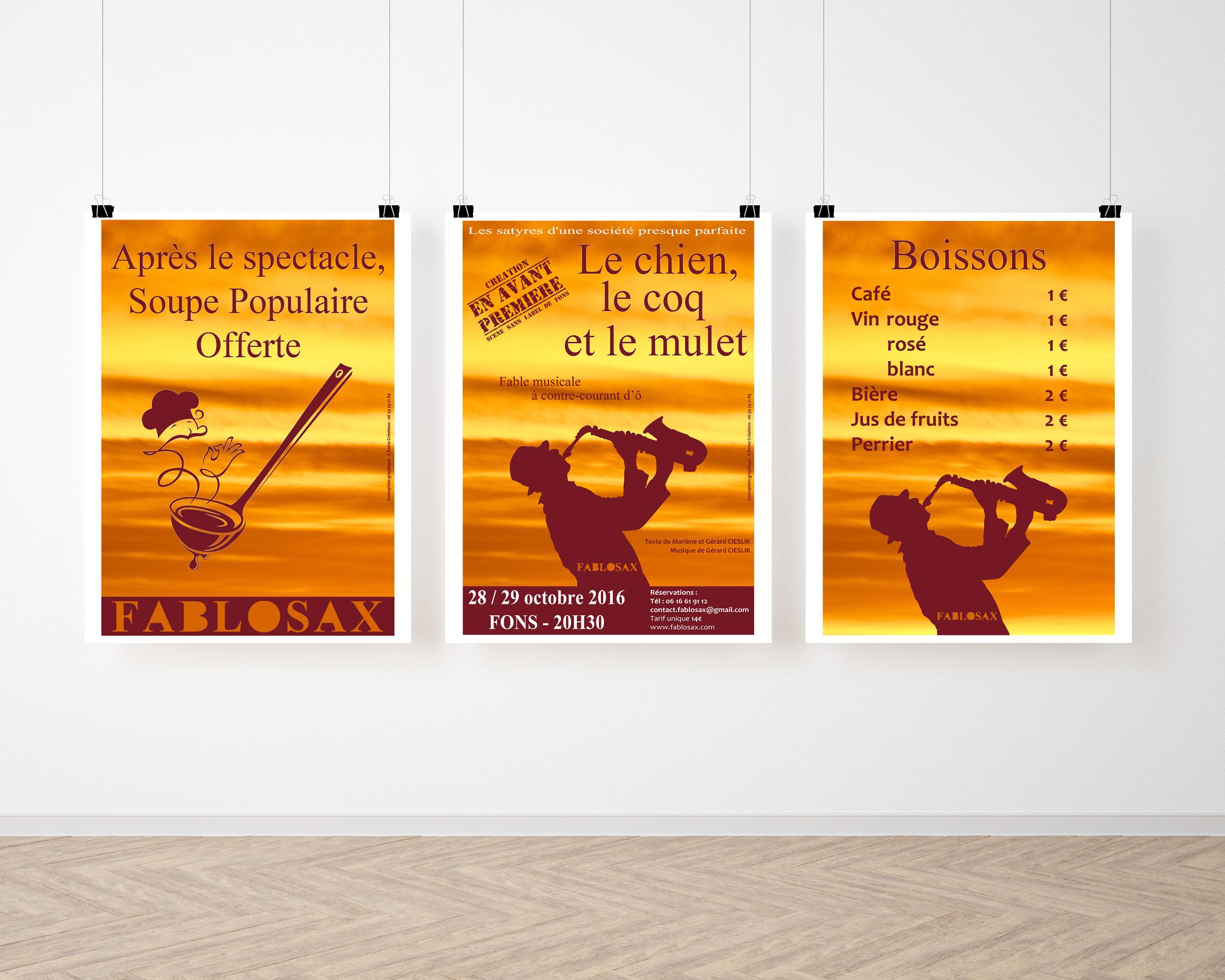 Affiches Fablosax