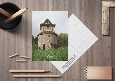 Carte postale Pigeonnier Fons 46