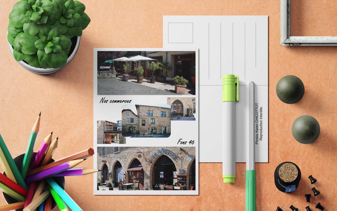 Cartes postales village de Fons (46)