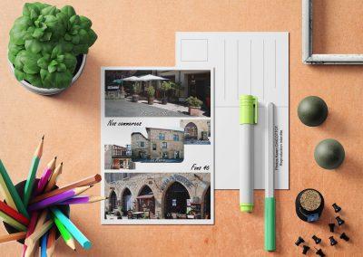 Carte postale Nos commerces Fons 46