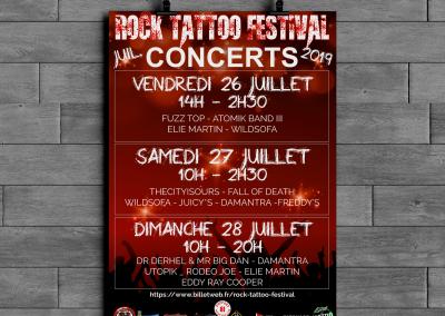 Affiche concerts