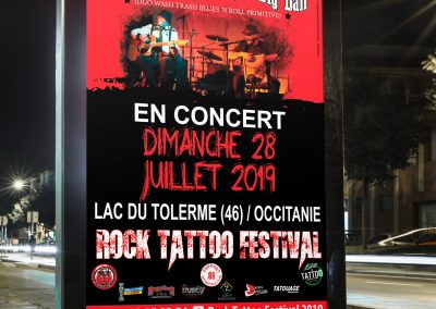Affiche Dr Derhel et Mr Big Dan