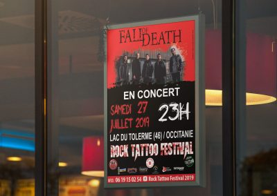 Affiche Fall of death