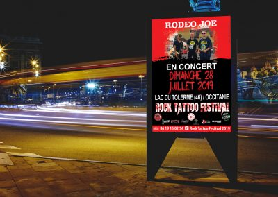 Affiche Rodeo Joe