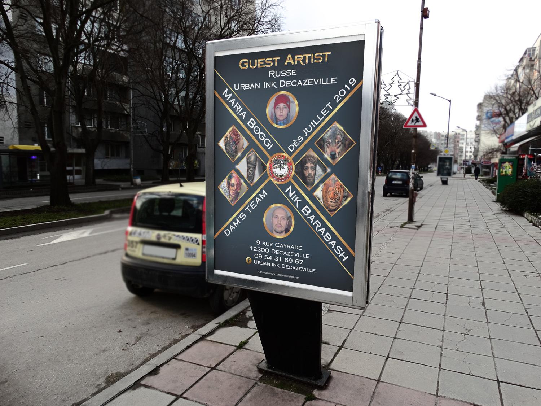 Affiche Guest artist Russe