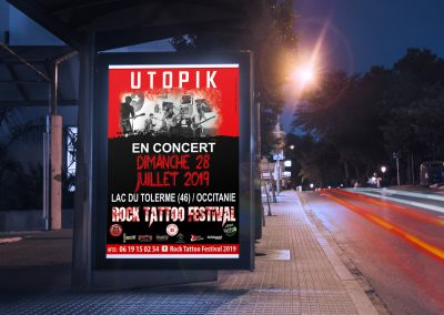 Affiche Utopik