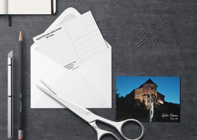 Carte postale Église de nuit de Fons 46
