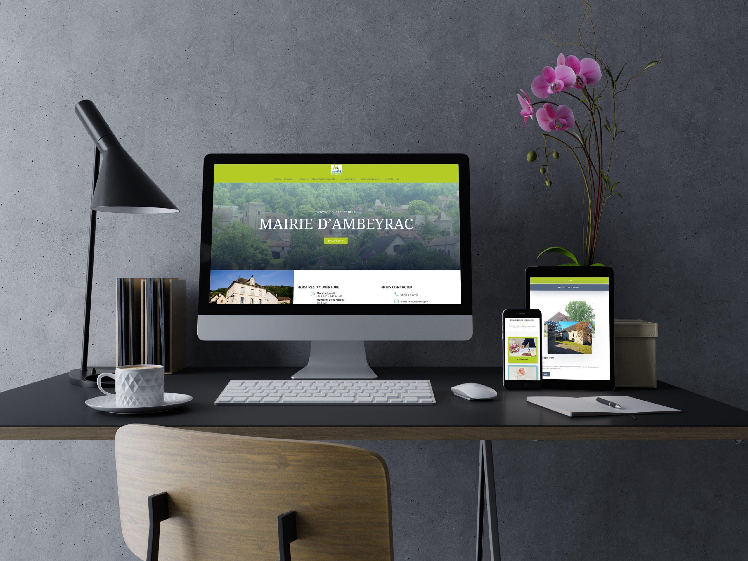 Site internet Mairie Ambeyrac