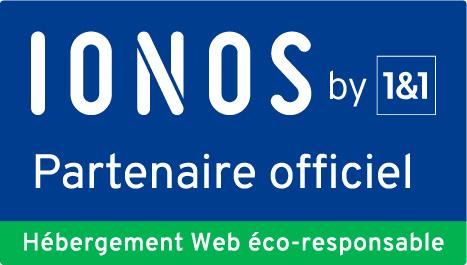 1&1 Ionos partenaire officiel