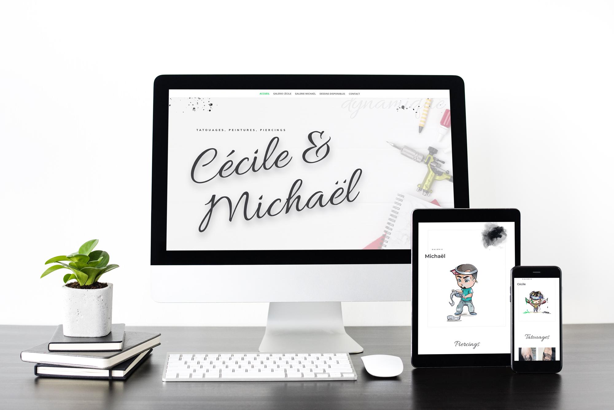 Tatouages Cécile & Michaël
