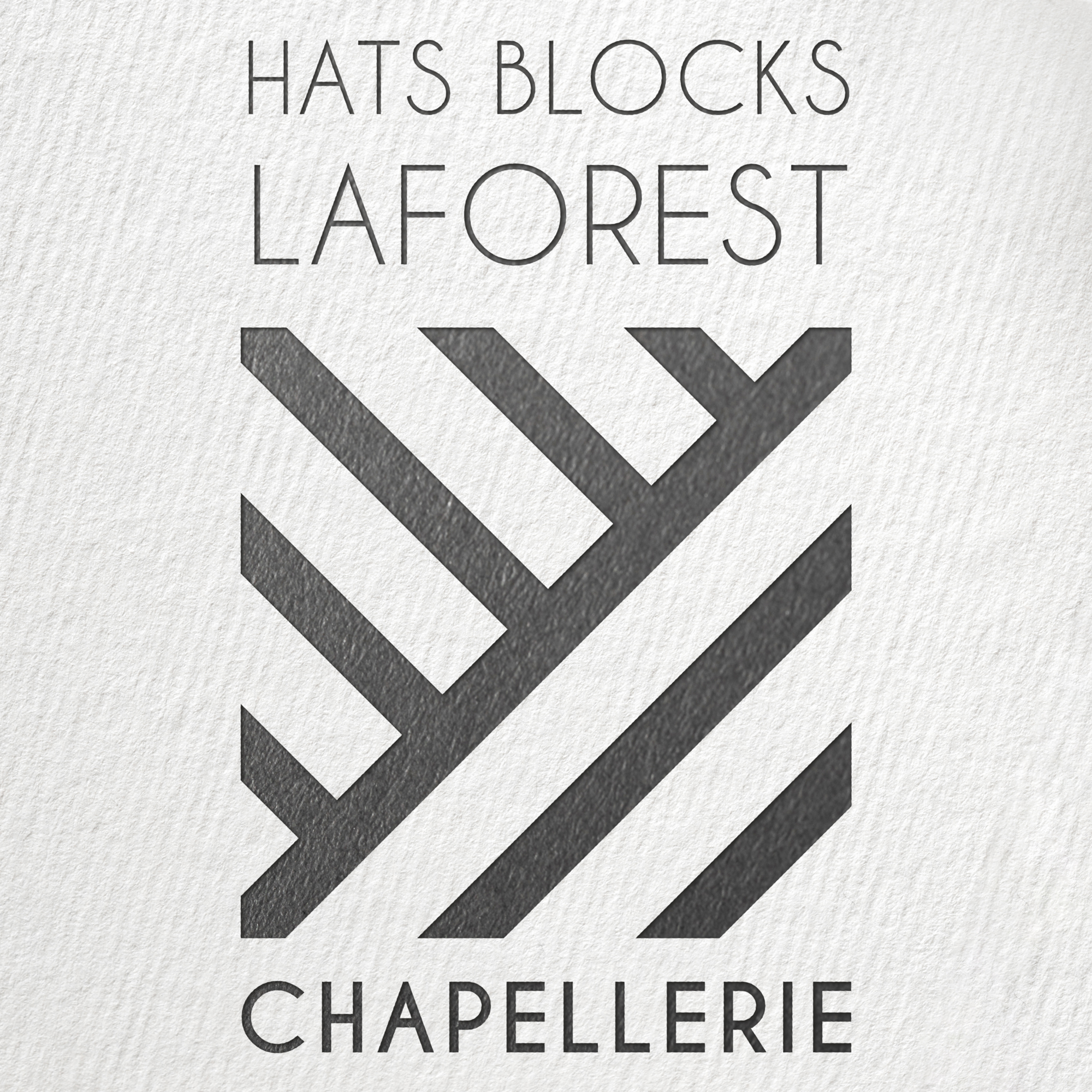 Logo Hats blocks Laforest
