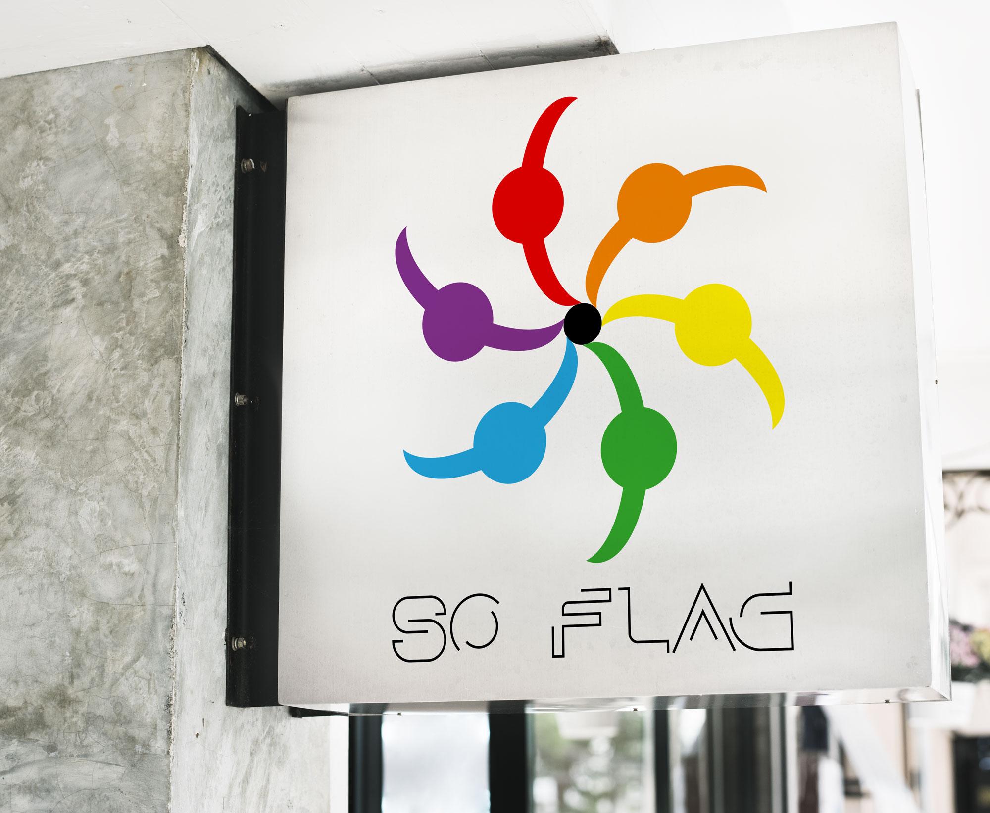 Logo So flag