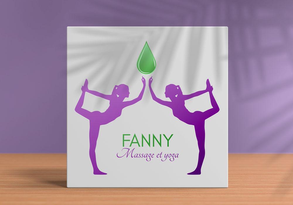 Logo Fanny Planchon - Massage et yoga