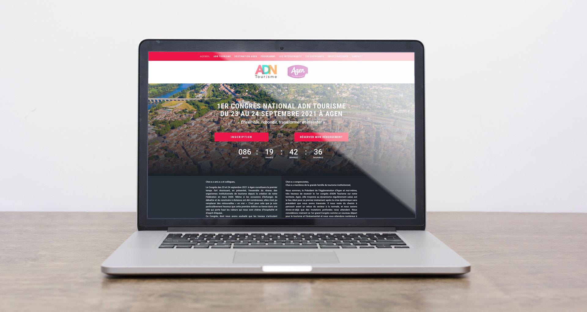 Site Congrès ADN Tourisme